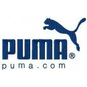 Puma Logo machine embroidery design 2