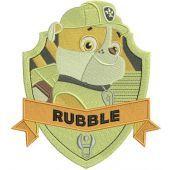 Rubble machine embroidery design 2