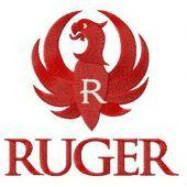 Ruger logo embroidery design