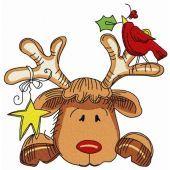 Sad Christmas deer 2