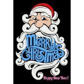 Santa wishes you Merry X-mas