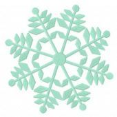 Snowflake machine embroidery design 13