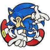 Sonic the Hedgehog - I Like Game embroidery design