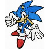 Sonic the Hedgehog embroidery design 2