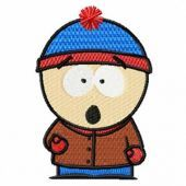 South park 2 embroidery design