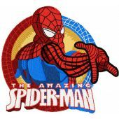 The Amazing Spiderman machine embroidery design