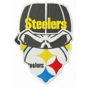 Steelers dead fan embroidery design