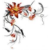 Swirl Flower Lily