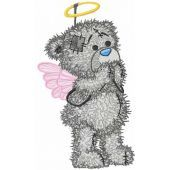 Teddy Angel embroidery design