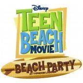 Teen beach movie logo machine embroidery design