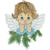 Thoughtful Christmas Angel