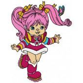 Tickled Pink machine embroidery design