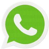 Whatsapp Logo machine embroidery design
