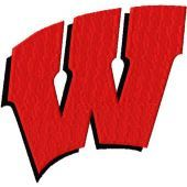 Wisconsin Badgers Logo machine embroidery design
