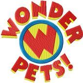 Wonder Pets Logo embroidery design