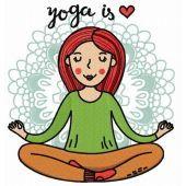 Yoga is heart
