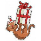 Your Christmas present machine embroidery design
