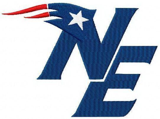 New England Patriots Logo 4 Machine Embroidery Design