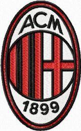 AC Milan embroidery design