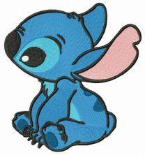 Amused Stitch embroidery design