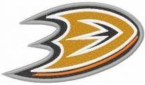 Anaheim Ducks logo 2014 embroidery design