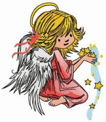 Angel with star dust 2