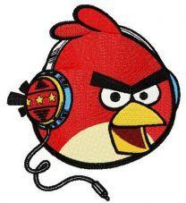 Angry bird music fan