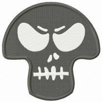 Angry skull mask