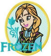Anna badge