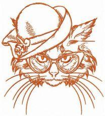 Aristocratic cat