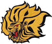Arkansas-Pine Bluff Golden Lions Logo machine embroidery design
