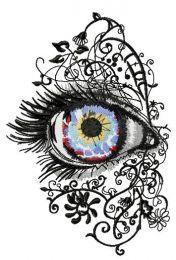 Attractive eye