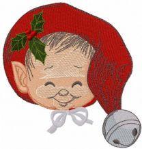 Baby elf embroidery design