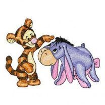 Baby Tigger and Baby Eeyore