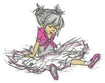 Ballerina tired
