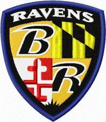 Baltimore Ravens logo 1