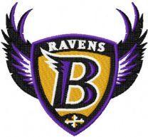 Baltimore Ravens alternative logo