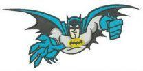 Batman is flying