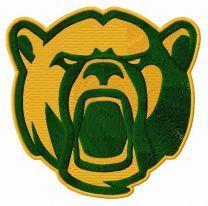 Baylor Bears alternative logo embroidery design