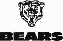 Chicago Bears Logo embroidery design