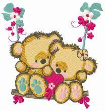 Bears on a teeter 2
