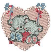 Bears on a teeter