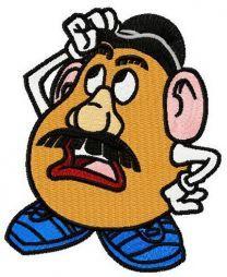 Bemused Mr. Potato Head
