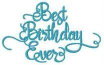 Best birthday ever 2