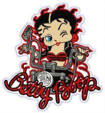 Betty Boop biker 2