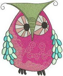 Bizarre owl