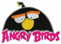 Angry Birds Black