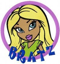 Bratz badge