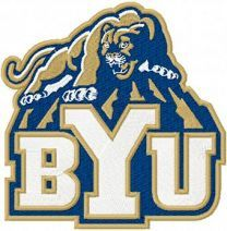 Brigham Young Cougars Alternate Logo