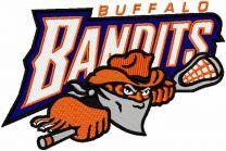 Buffalo Bandits logo embroidery design